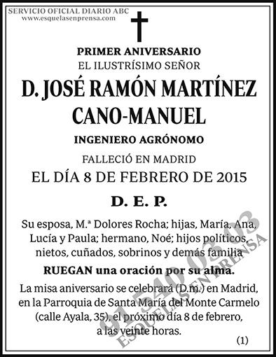 José Ramón Martínez Cano-Manuel